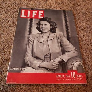 Vintage Life Magazine from April 24, 1944